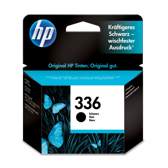 HP HP 336 BLACK INK CART C9362EE HP 336 original cartouche dencre noir capacite standard 5ml 210 pages pack de 1