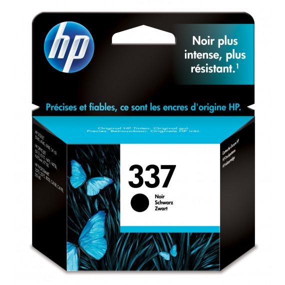 HP HP Nr337 Tinte schwarz 11ml HP 337 original cartouche d encre noir capacite standard 11ml 400 pages pack de 1