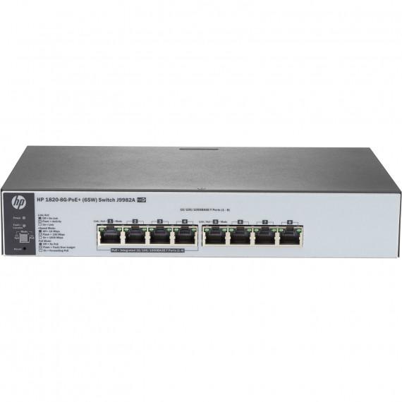 HP 1820-8G-PoE+ (65 W)