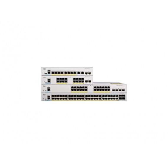 CISCO C1000-8T-E-2G-L  Catalyst 1000 8-Port Gigabit data-only 2 x 1G SFP Uplinks LAN Base with external power supply