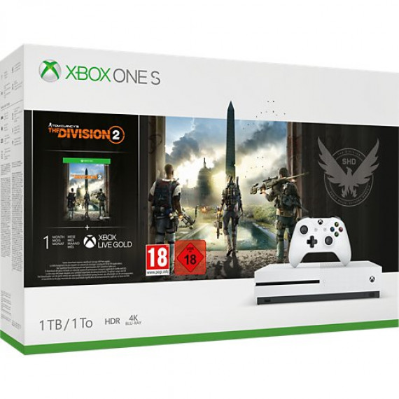 Microsoft Console Xbox One S  1To The Division 2