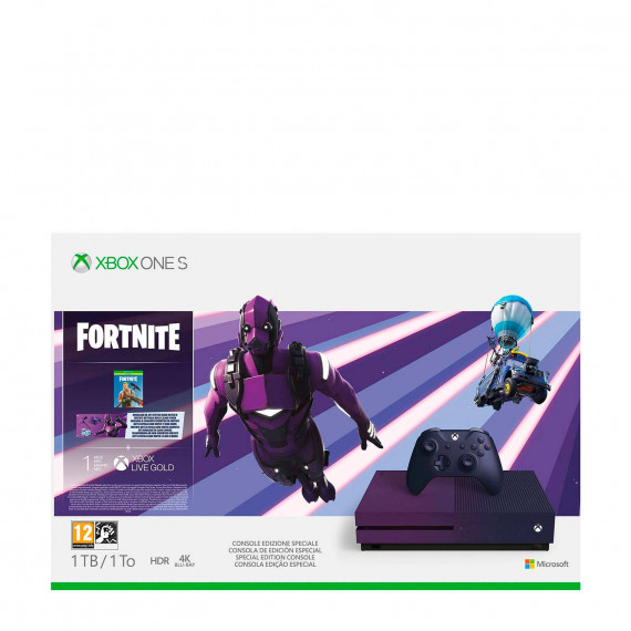 Microsoft Console Xbox One S  1 To Fortnite Ed. limitée