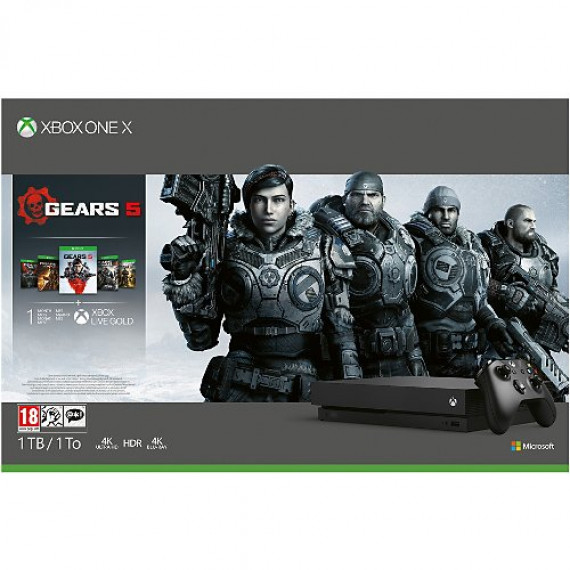 Microsoft Console Xbox One X  1To Gears5