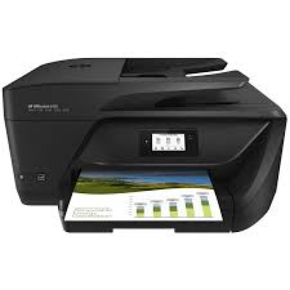 Imprimante Multifonction Hewlett-Packard OfficeJet 6950 noir, USB/WLAN, Scan, Copie, Fax