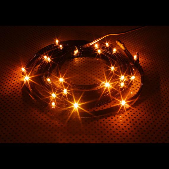 NZXT CB-LED20-OR 24x LED orange manches - 2 m