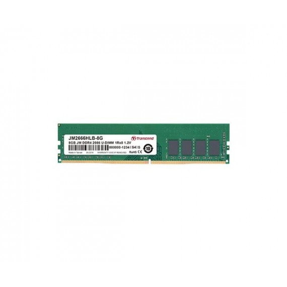 TRANSCEND 16Go JM DDR4 2666Mhz U-DIMM  16Go JM DDR4 2666Mhz U-DIMM 2Rx8 1Gx8 CL19 1.2V