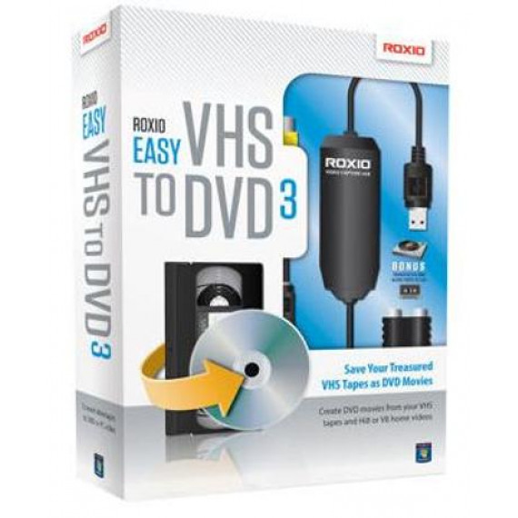 Boitier Capture Roxio Easy VHS to DVD 3