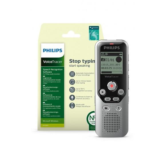 PHILIPS PACK DVT1251 + Logiciel de reconnaissance vocale