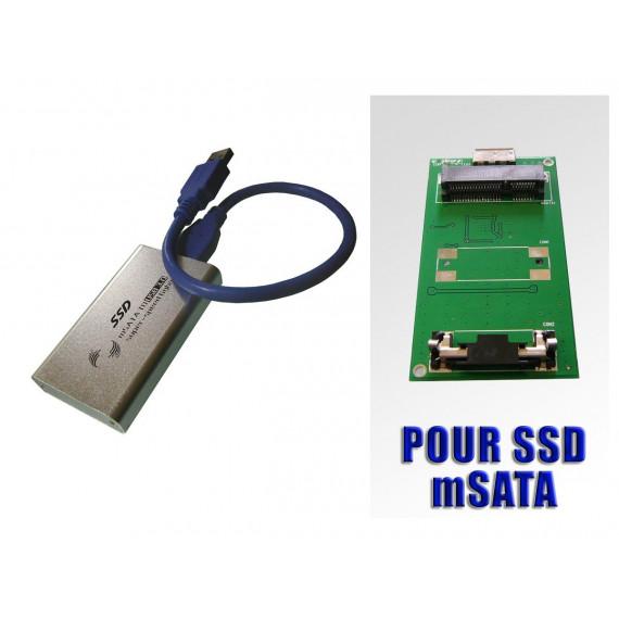 Boitier mSATA vers USB3