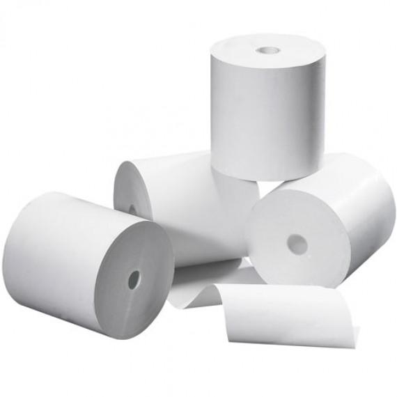 GENERIQUE Lot de 10 bobines thermique 57 x 40 x 12 mm - Papier thermique pour imprimante TPE (paiement par carte bancaire) sans bisphenol