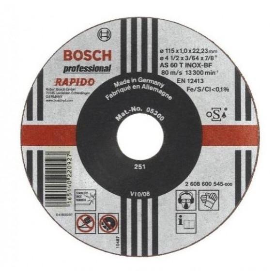 Disque à tronçonner  Bosch Expert for Inox 115 x 1 mm