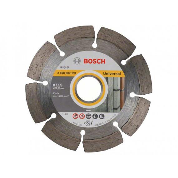 Disque à tronçonner  Bosch Standard Universal 115 mm
