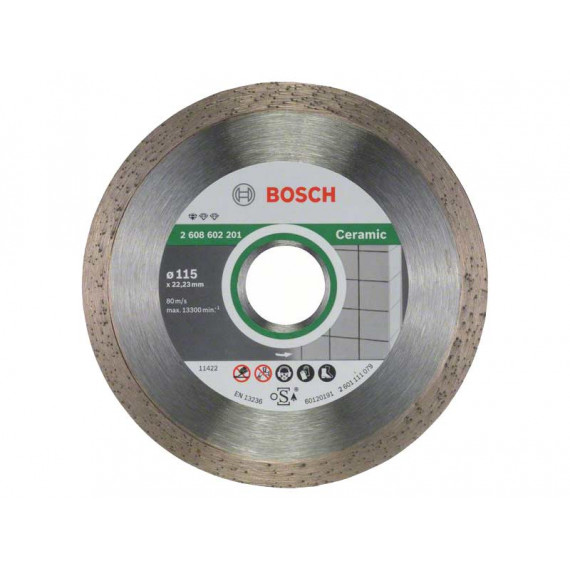 Disque à tronçonner  Bosch Standard for Ceramic 115mm