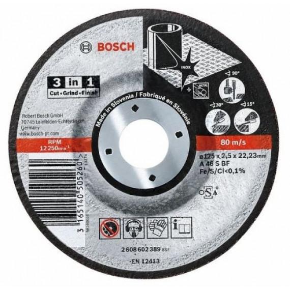 Disque à tronçonner  Bosch 115 x 2,5 mm