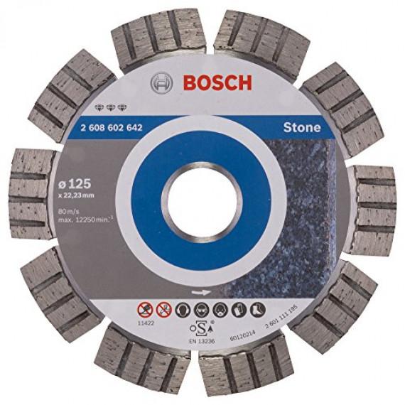 Disque à tronçonner  Bosch Best for Stone 125mm