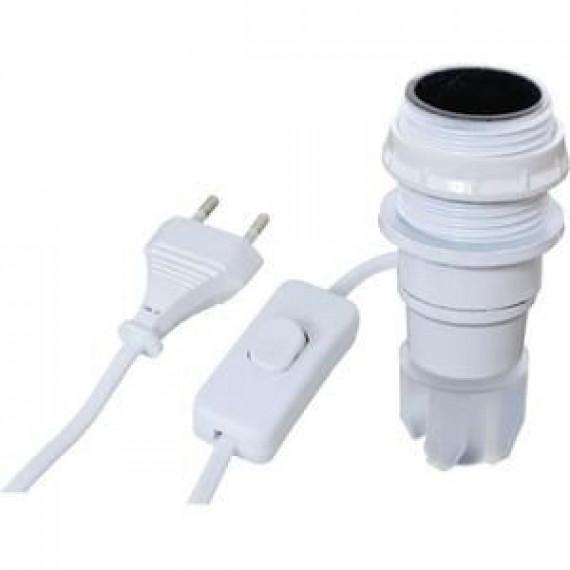 1Control TIBELEC Kit adaptateur bouteille équipé E14 blanc