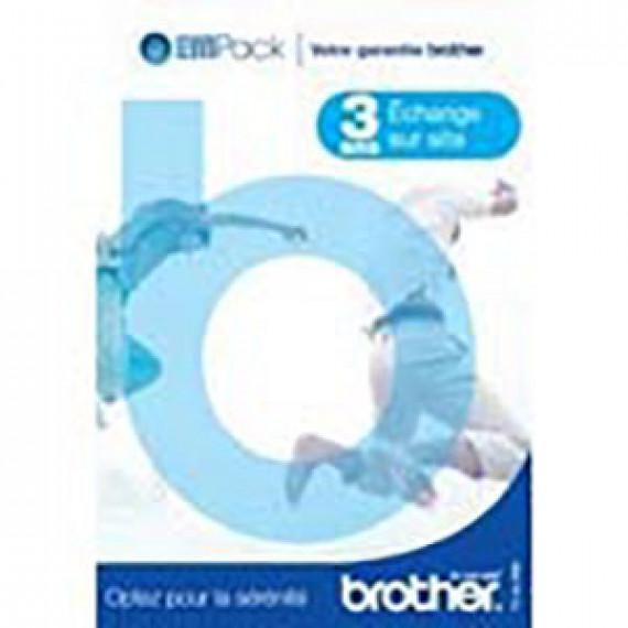 BROTHER Brother EffiPack - Extension de garantie 3 ans échange sur site (Pack service 3) (FRANCE)