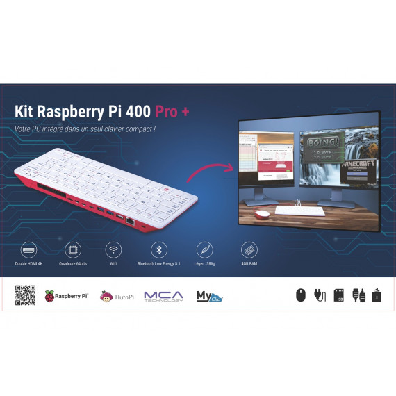 Raspberry Pi 400 Pro+