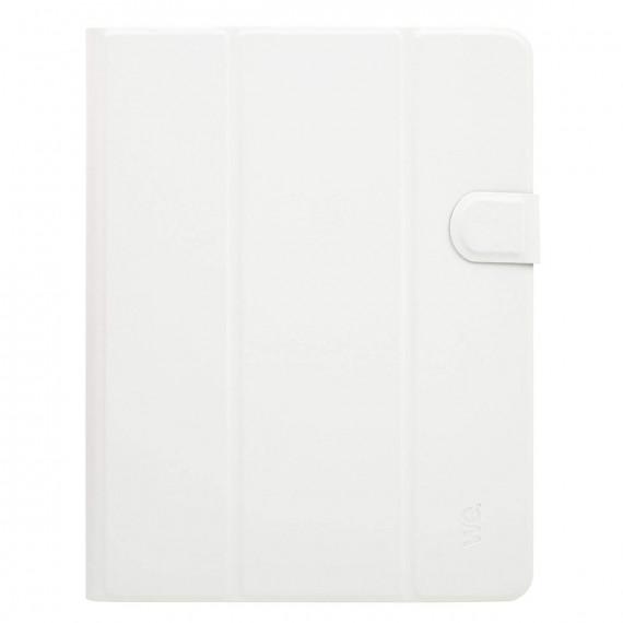 """WE Étui Universel Crochets Tablette 9/10"""" Blanc"""