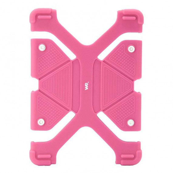 """WE Protection Universelle Tablette 8.9/12"""" Rose"""