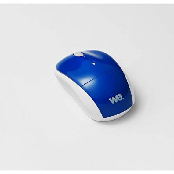WE Souris sans fil  DELUXE V3 Bleue Nano Dongle USB