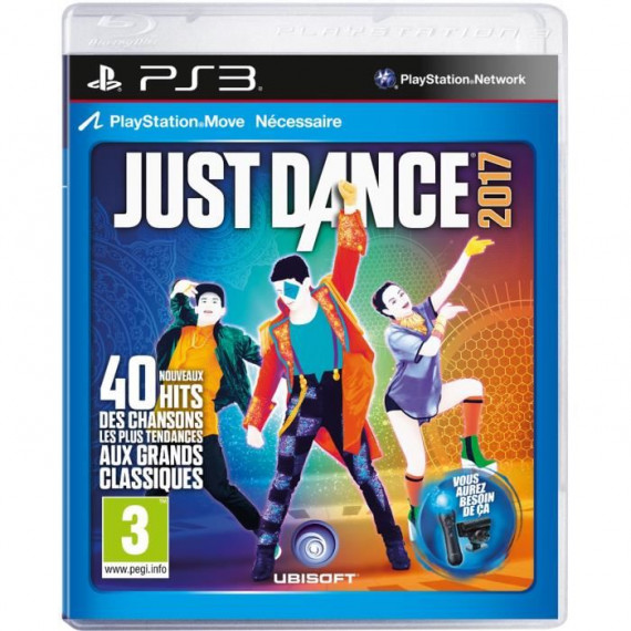 Ubisoft JUST DANCE 2017 PS3