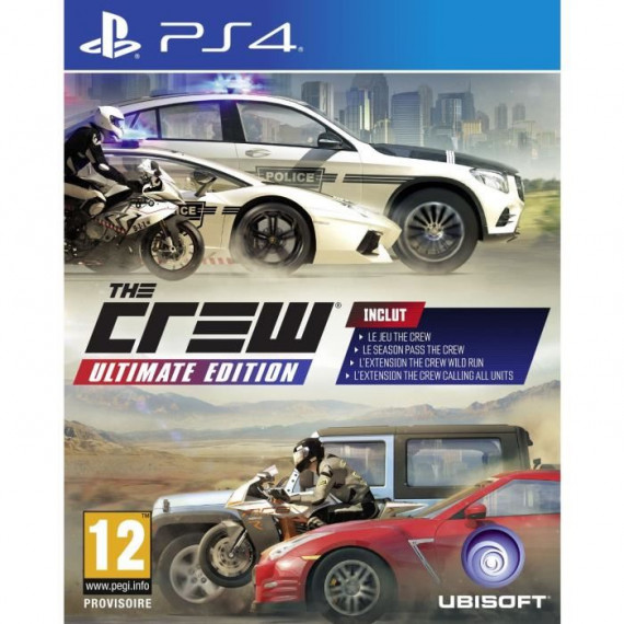Ubisoft THE CREW ULTIMATE PS4