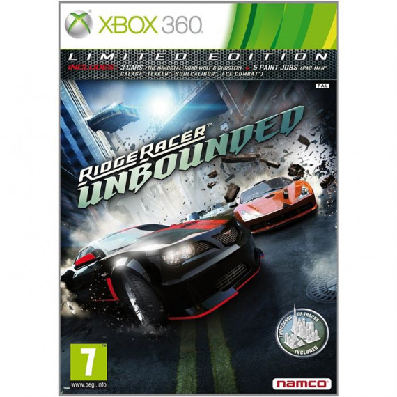 BANDAÏ Ridge Racer Unbounded (Xbox 360)