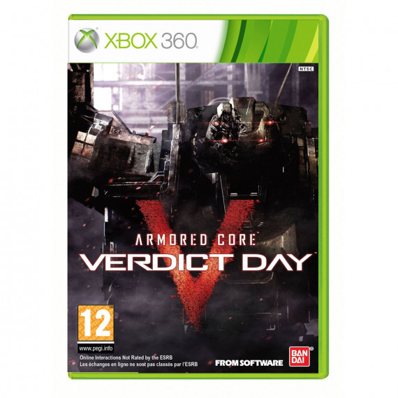 BANDAÏ Armored Core Verdict Day (Xbox 360)