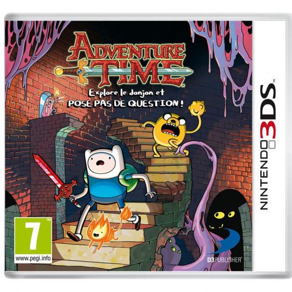 BANDAÏ Adventure Time - Explore le donjon et POSE PAS DE QUESTION ! (Nintendo 3DS/2DS)