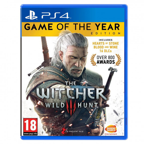 BANDAÏ The Witcher III : Wild Hunt - Game Of The Year Edition (PS4)