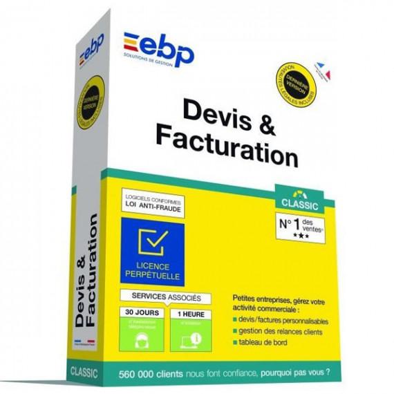 EBP Devis et Facturation Classic (Nouvelle Version)