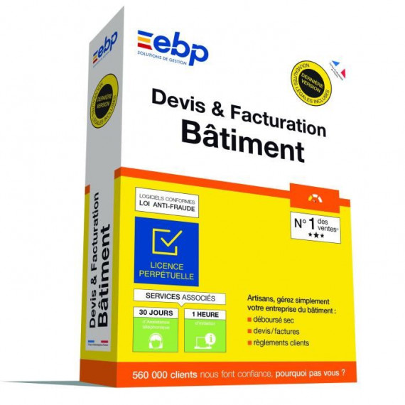 EBP Devis & Facturation Bâtiment Dynamic
