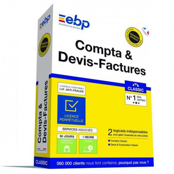 EBP Compta et Devis-Factures Classic (Nouvelle Version)