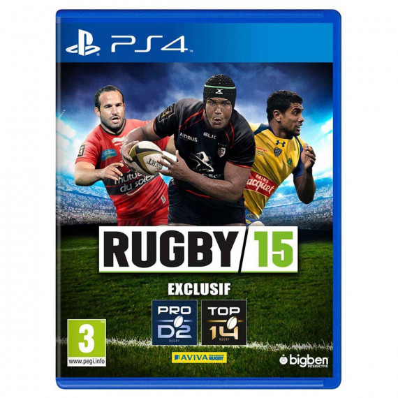 Bigben Interactive Rugby 15 (PS4)