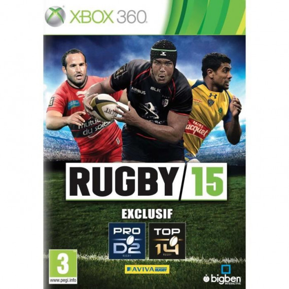 Bigben Interactive Rugby 15 (Xbox 360)