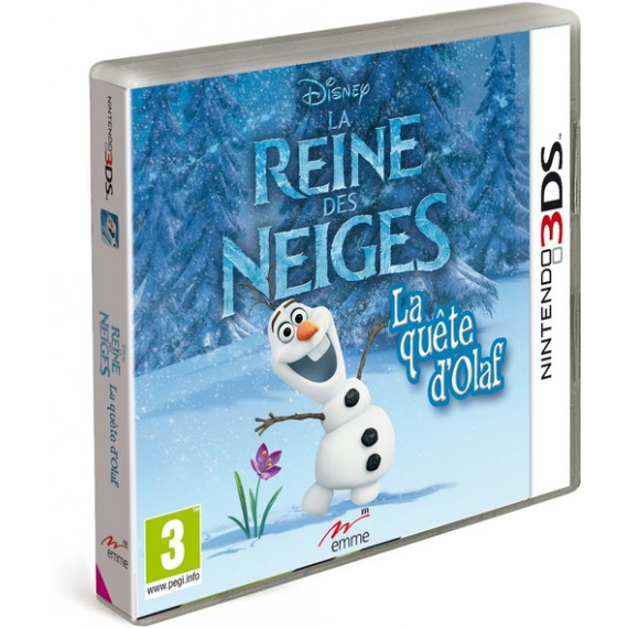 JUST FOR GAMES LA REINE DES NEIGES - 3DS