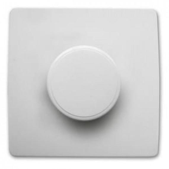 GENERIQUE Interrupteur Variateur 60 à 300 W vis + griffes Diwone Blanc