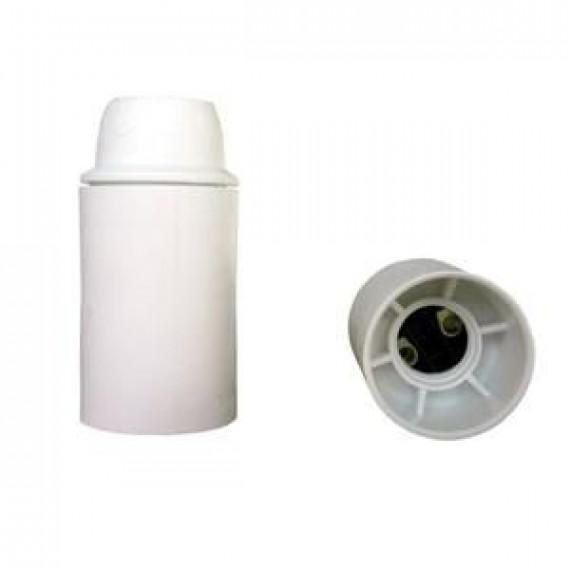 GENERIQUE Douille E14 thermoplastique lisse blanc