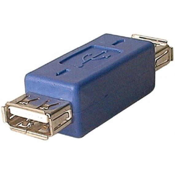 GENERIQUE Adaptateur USB 2.0 type A femelle / A femelle