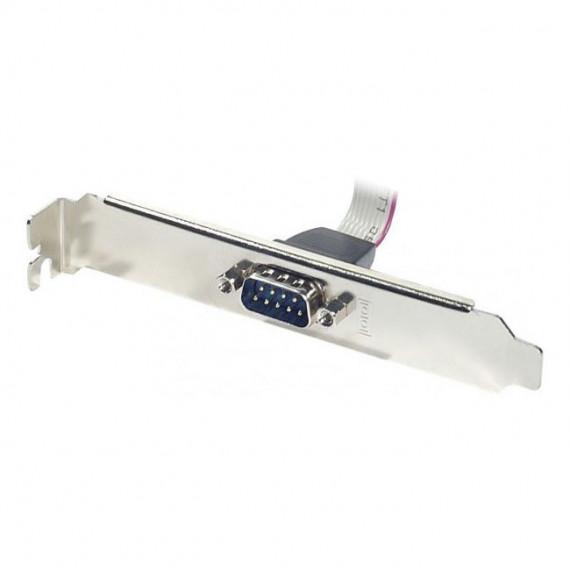 GENERIQUE Equerre slot DB9 avec connecteur nappe HE-10 femelle