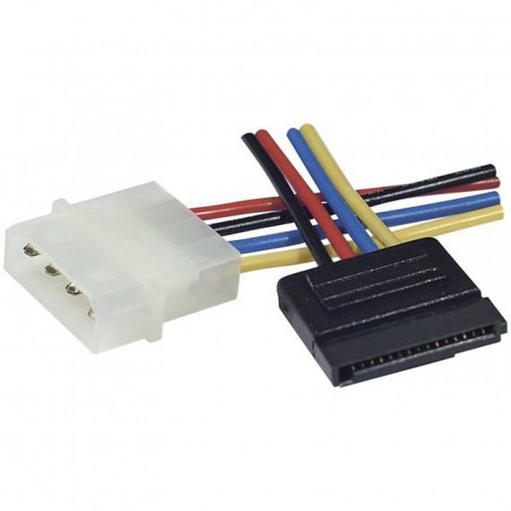 GENERIQUE Câble d'alimentation Molex pour appareil SATA