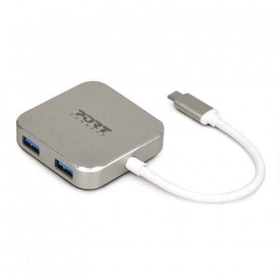 PORT DESIGN USB HUB 4 S TYPE C
