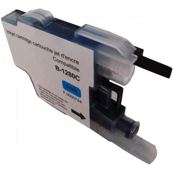 GENERIQUE Cartouche compatible LC1280XLC/1240C/1220C