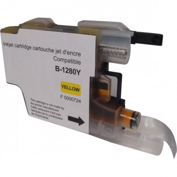 GENERIQUE Cartouche compatible LC1280XLY/1240Y/1220Y