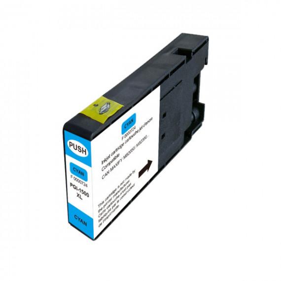 GENERIQUE Cartouche compatible Canon PGI-1500XL C (Cyan)