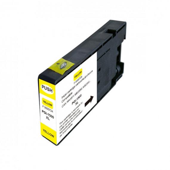 GENERIQUE Cartouche compatible Canon PGI-1500XL Y (Jaune)