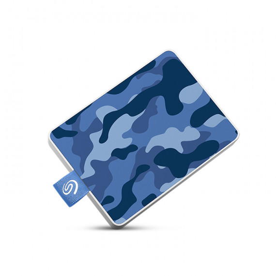 Seagate One Touch SSD 500Go Blue  One Touch SSD 500Go Camo-Blue RTL