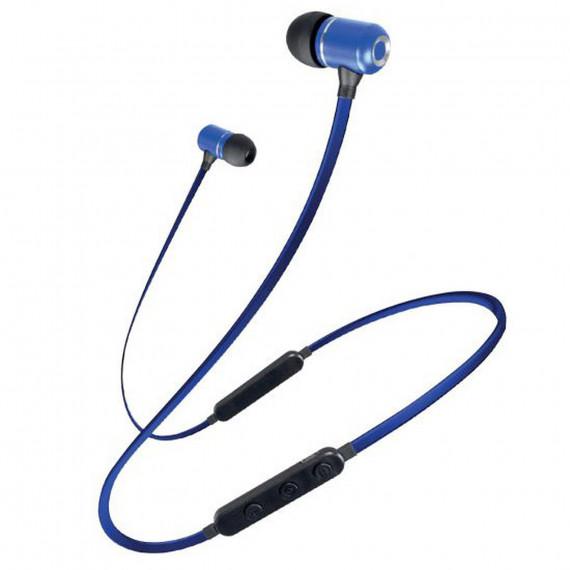 Schneider Earphones Bluetooth Micro Bleu