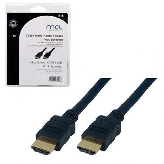 MCL GOLD-PLATED 19 MALE HDMI 4K HD